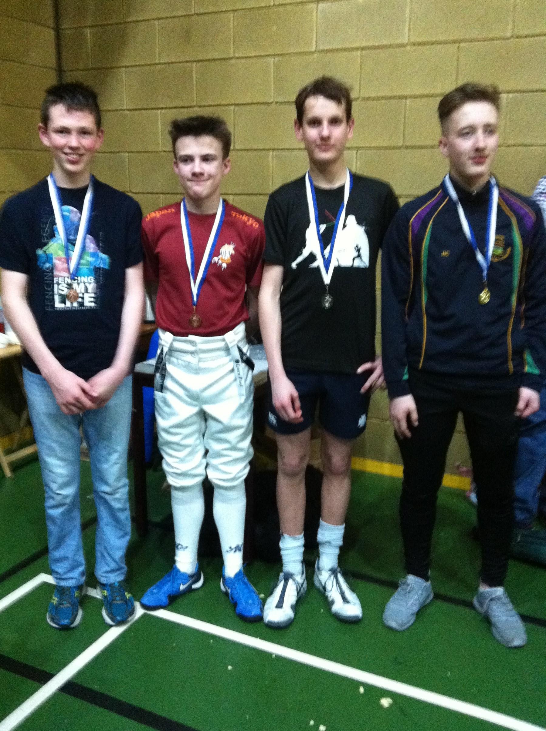 Belfast Open 2017 Results Belfast Fencing Club
